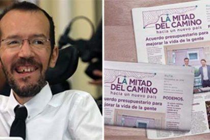 El periódico de Podemos se va a la mierda por no querer comerse el marrón socialista