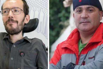 """Echenique dice que la """"manada"""" que patea mujeres indefensas son votantes del PP, C´s o VOX y en Twitter le recuerdan a Andrés Bódalo"""