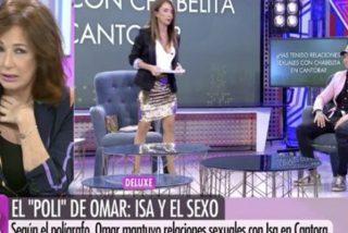 """Ana Rosa 'casi vomita' tras ver un vídeo de Omar Montes: """"Es asqueroso"""""""