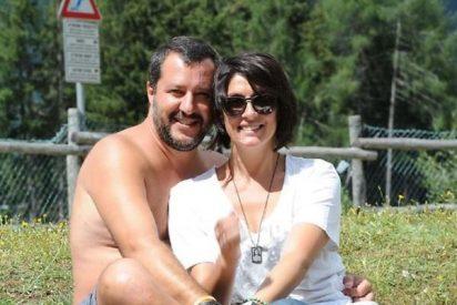 Con una foto íntima una presentadora rompe con el ministro italiano Matteo Salvini