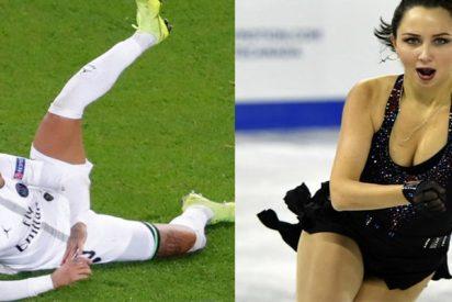 """Esta patinadora se descojona de Neymar: """"En mi carrera me he caído menos que Neymar en 90 minutos"""""""