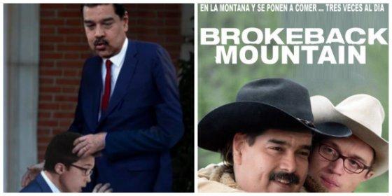 Los formidables montajes sobre los lametones de 'Milhouse' Errejón al 'gorila' Maduro que te harán partirte de risa