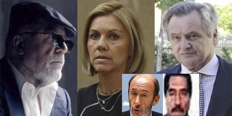 Cospedal y su marido encargaron también al comisario Villarejo espiar al hermano de Rubalcaba