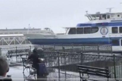 Este ferry se estrella contra un muelle en San Francisco