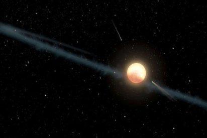 Descubren esta nueva estrella rodeada de 'megaestructuras alienígenas'