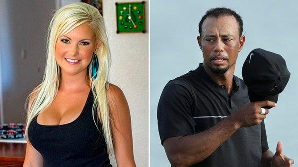 Impactante foto de la ex amante de Tiger Woods tras pasar por prisión tras intercambiar sexo por drogas