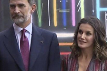 Esta imagen de Felipe VI y Letizia en 'Audiencia Abierta' de TVE esconde una notable polémica