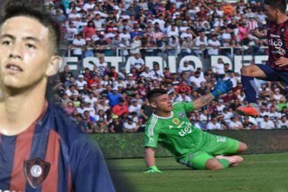 Este jugador de 14 años se convierte en el goleador más joven del fútbol de Paraguay