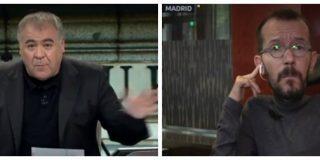 El falsario Echenique niega que Podemos subiese la tasa hipotecaria en Aragón y Ferreras se traga el bulo