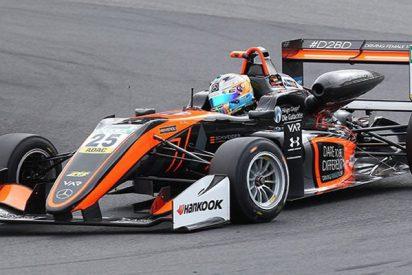 Esta piloto alemana se 'estampa' en su Fórmula 3 contra un muro en un brutal accidente
