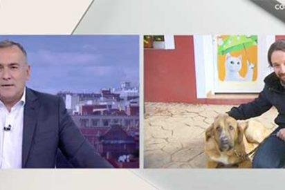 El 'Lechero' Fortes se hunde en su propio fango alentado un publirreportaje a favor del amante de los animales Pablo Iglesias