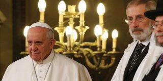 """El Papa, a los judíos: """"Somos hermanos e hijos de un sólo Dios, y debemos trabajar juntos por la paz"""""""