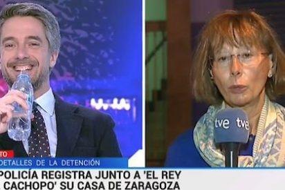 ¡Pasen y vean! TVE habla sobre un turbio crimen y el presentador se descojona sin pudor durante la noticia