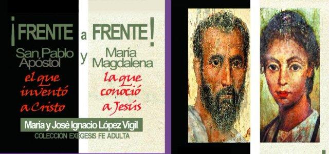 José Ignacio López Vigil presenta '¡Frente a frente! San Pablo y María Magdalena'