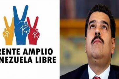 El Frente Amplio venezolano recibió propuestas de los ciudadanos para sacar a Maduro