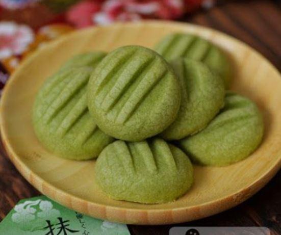 galletas alemanas con té verde