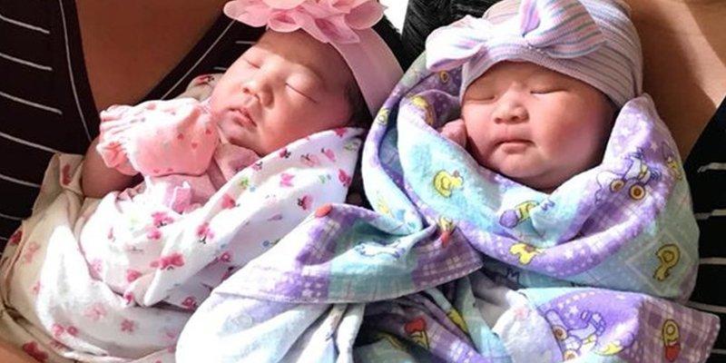 Hermanas gemelas dan a luz a sus hijas con dos horas de diferencia