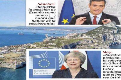 Gibraltar: Theresa May y la UE se la meten doblada a Pedro Sánchez y el socialista cacarea