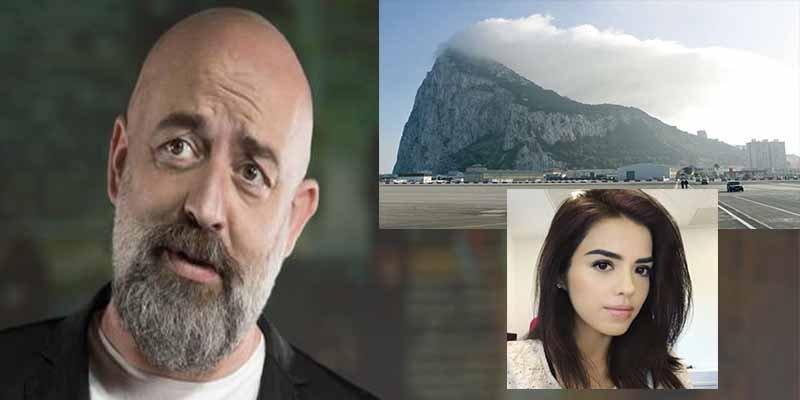 El zasca de Goyo Jiménez al faltón tuit de una periodista inglesa sobre Gibraltar