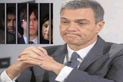 El Gobierno Sánchez echa un nuevo capote a los golpistas catalanes