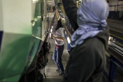 ¿Sabes qué se esconde detrás de las pintadas de los grafiteros en el Metro de Madrid?