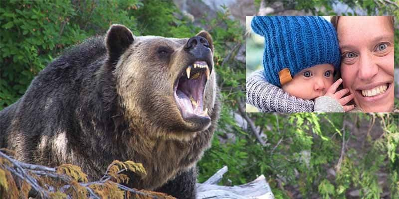 Un oso grizzly devora a una mujer y a su hija en un bosque de Canadá