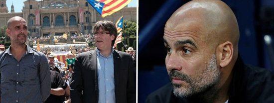 El 'indepe' Pep Guardiola visita la cárcel de Lledoners para dar un discurso en apoyo de los presos golpistas