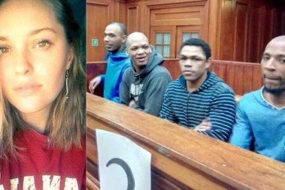 Cadena perpetua para los violadores negros de la chica blanca que pedía piedad y asesinaron a golpes