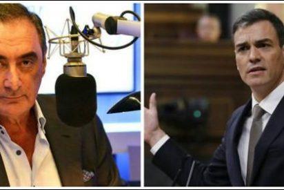 La sospecha de Carlos Herrera sobre el 'atentado' a Pedro Sánchez incendia el PSOE