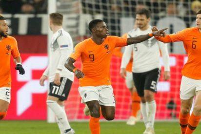Holanda deja a Francia sin la 'Final Four' de la Liga de Naciones al conseguir un empate en Alemania