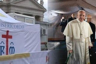 Comenzó a funcionar en San Pedro el hospital de campaña para pobres dispuesto por Francisco
