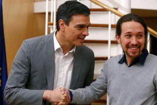 Pedro Sánchez y Pablo Iglesias son dos 'moscas' de la misma mierda