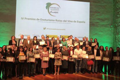 """ACEVIN entrega los IV Premios de Enoturismo """"Rutas del Vino de España"""""""
