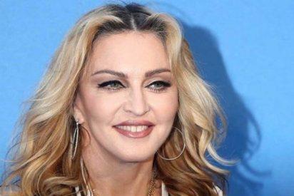 La eterna Madonna compartió una inusual foto de sus seis hijos juntos
