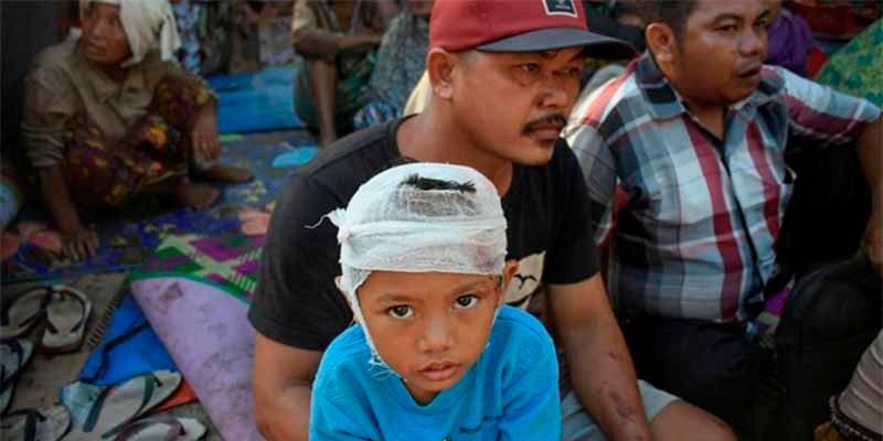 Un sismo de magnitud 5,5 hace temblar la costa de Indonesia