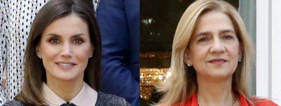 El regalo de doña Letizia a la infanta Cristina que ha emocionado a la reina Sofía
