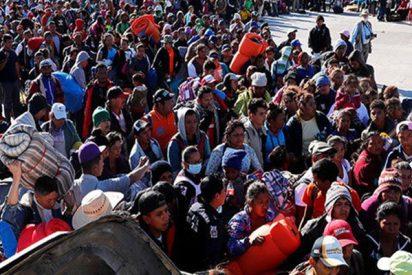 Más de 1.500 inmigrantes están ya en la frontera entre EE.UU. y México
