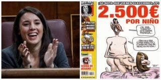 """Clamor en las redes contra la mordaza de 'Yoko Ono': """"Poner a la Princesa de Asturias a cuatro patas en una portada es libertad de expresión"""""""