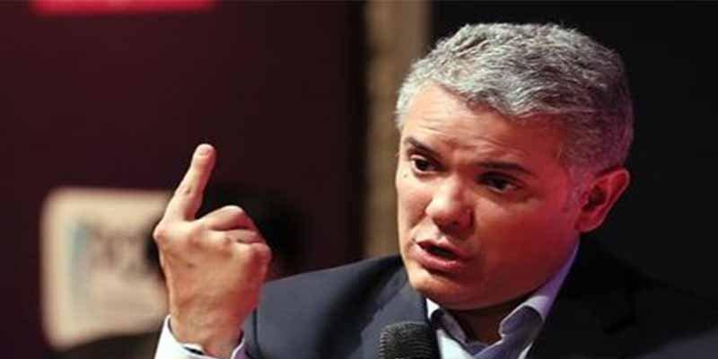 """Iván Duque se encara contra Cuba y Venezuela: """"Tendrán que explicar por qué hay en su territorio personas con circular roja de Interpol"""""""