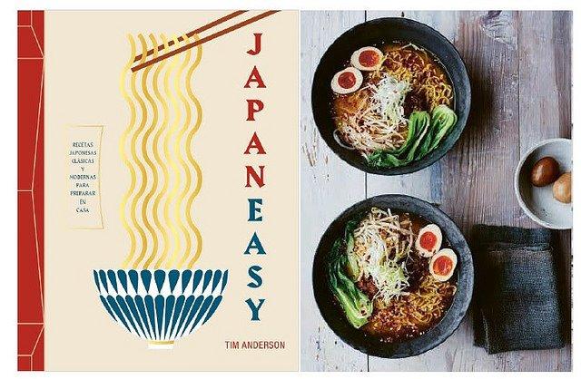 JapanEasy, o el arte de las recetas japonesas fáciles, de Tim Anderson