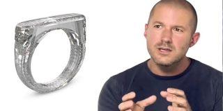 """Así es el anillo de diamante """"unibody"""" diseñado por Jony Ive y que cuesta 200.000 dólares"""