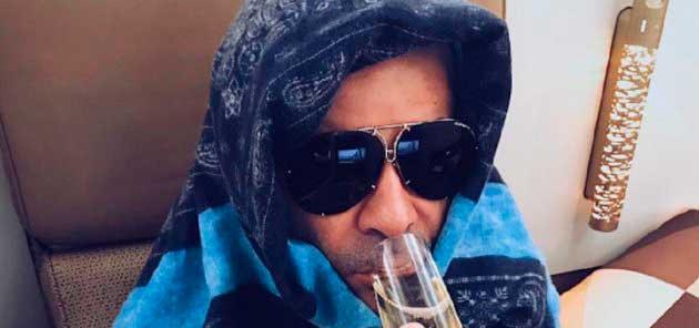 Jorge Javier no se come una rosca en su intento de ligar con 'moritos ' en Abu Dhabi