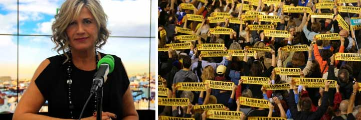 """Erre que erre: en el programa de Julia Otero de Onda Cero también llaman """"presos políticos"""" a los golpistas en prisión y nadie se inmuta"""