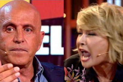 """Mila Ximénez abandona 'Sálvame' tras un espectacular broncazo con Kiko Matamoros: """"¡Se acabó! ¡Habla de la mierda que tienes en tu casa!"""""""