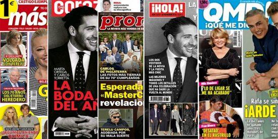 Kiosco Rosa: la boda de Marta Ortega y Fran Rivera 'desatado' en el rastrillo