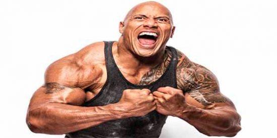 """""""La Roca"""" Dwayne Johnson sorprendió a sus fanáticos al mostrar lo que se zampa en una cena"""
