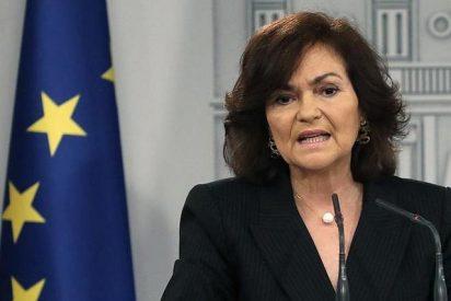 Grotesca Calvo: llama anticonstitucional a Vox la misma que está en el cargo gracias a los amigos de Otegi y Junqueras