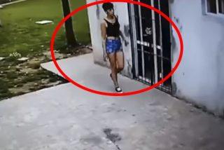 Una pareja argentina cansada de los robos constantes instala cámaras y pillan a esta ladrona