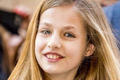 La foto oculta de una desobediente princesa Leonor que amarga a doña Letizia por un dulce detalle