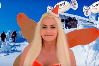 Así es 'El Polvorrón', el grotesco villancico de Leticia Sabater para estas Navidades